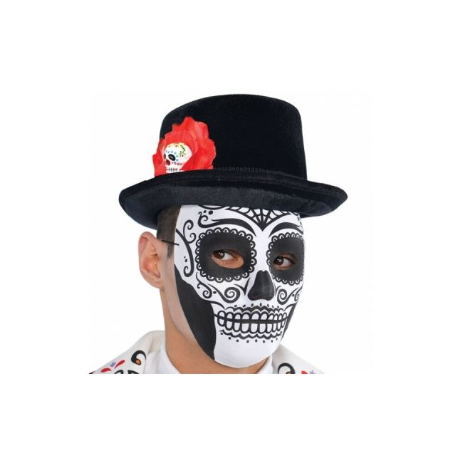 Halloween Party Day Of The Dead Adult Top Hat