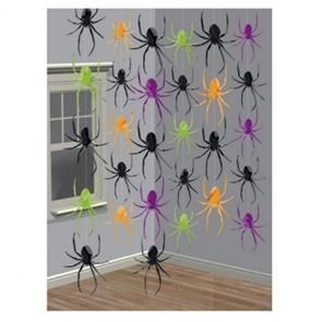 Halloween Party Spider Hanging String Decorations