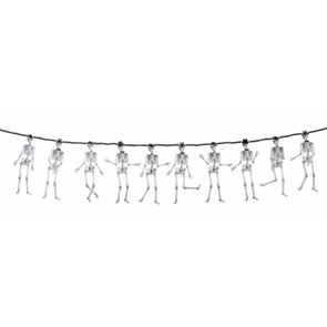 Halloween Party Skeleton Crew Banner