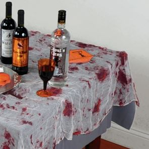 Halloween Bloody Gauze Tablecover