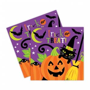 Witches Crew Halloween Party Napkins