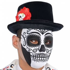 Halloween Party Day Of The Dead Adult Mask